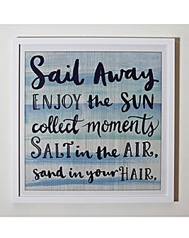 Sail Away Framed Print