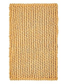 Micro Cotton Bobble Bathmat- Sand