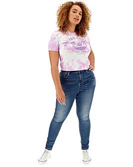 Blue Chloe High Waist Skinny Jeans