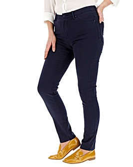 Navy Sadie Super Soft Slim Leg Jeans