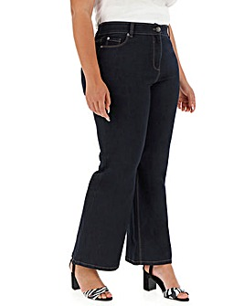 24/7 Indigo Wide Leg Jeans Long Length