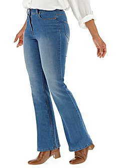 24/7 Blue Bootcut Jeans