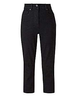 24/7 Black Crop Jeans