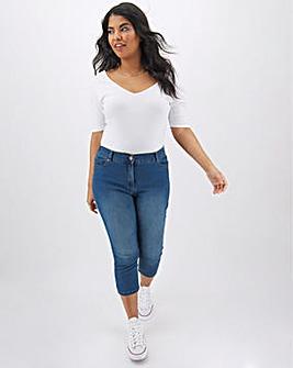 24/7 Blue Crop Jeans