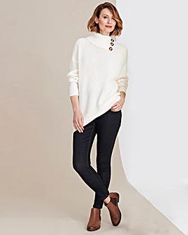 24/7 Indigo Skinny Jeans Long