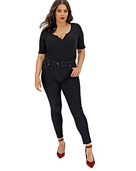 24/7 Indigo Skinny Jeans Regular