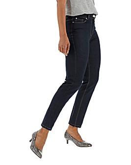 24/7 Indigo Straight Leg Jeans Petite