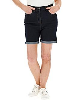 24/7 Indigo Denim Shorts