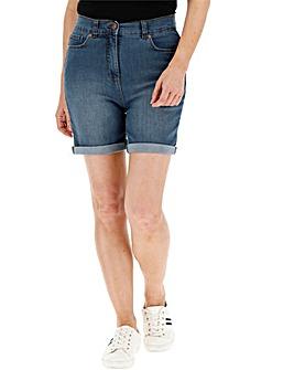 24/7 Blue Denim Shorts
