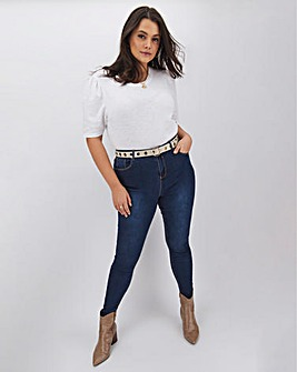Chloe High Waist Skinny Jeans Long