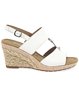 Gabor Keira Womens Wedge Heel Sandals