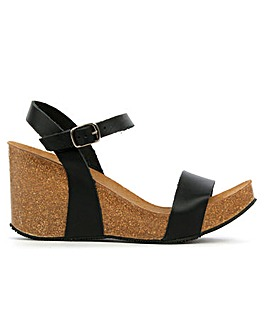 DF By Daniel Ryther Corked Wedge Sandals