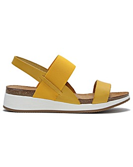 Daniel Bottlewell Low Wedge Sandals