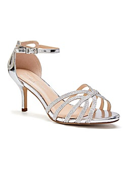 Paradox London Harley Wide E Fit Sandals