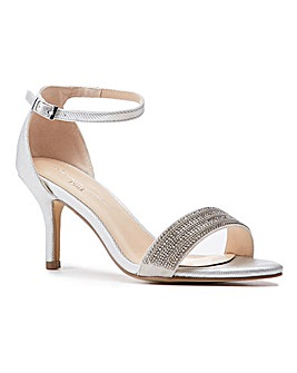 Paradox London Hilma Wide E Fit Sandals