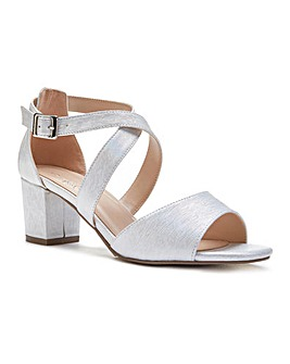 Paradox London Hadid Wide E Fit Sandals