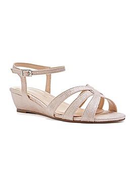 Paradox London Jackie Wide E Fit Sandals