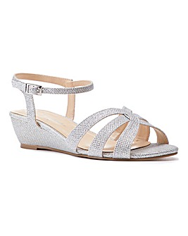 Paradox London Jackie Wide E Fit Sandals