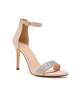Paradox London Vista Diamante Sandals