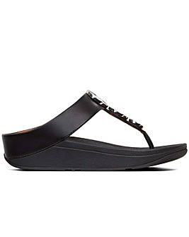 FitFlopHalo Womens Toe Post Sandals