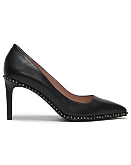 Daniel Newtoon Studded Court Shoes