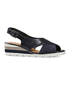 Van Dal Madras X Sandals Wide EE Fit