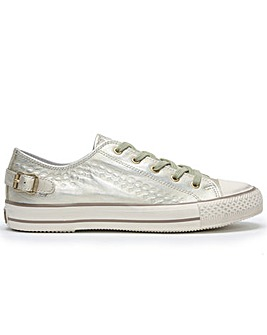 Ash Virgo Metallic Lace Up Trainers