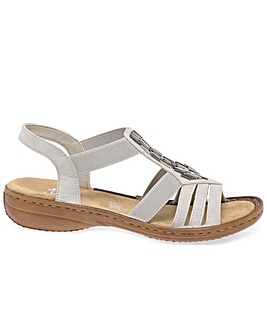 Rieker Nissi Standard Fit Casual Sandals