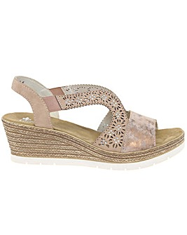 Rieker Alabama Standard Fit Sandals