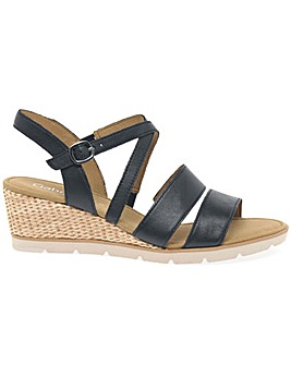 Gabor Protect Standard Fit Wedge Sandals