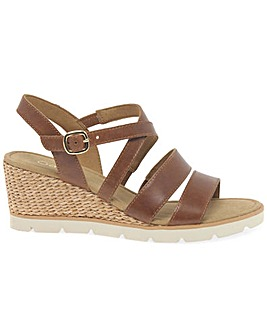 Gabor Protect Womens Wedge Heel Sandals