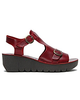 Fly London Yavi Chunky T Bar Sandals
