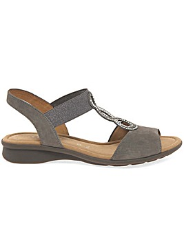 Gabor Merlin Wider Fit Flat Sandals