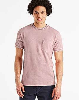 Fenchurch Birdseye T-Shirt Regular