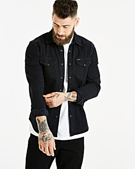 Lee Black Western Shirt