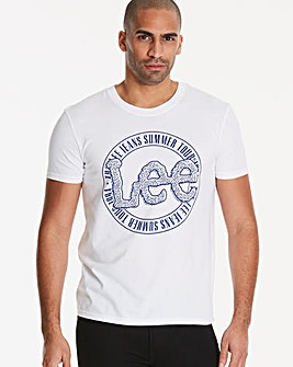 Lee White Logo T-Shirt