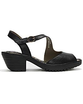 Fly London Wyno Asymmetric Sandals