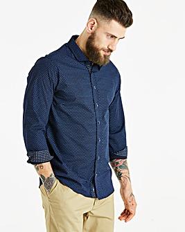 Bewley & Ritch Navy L/S Shirt R