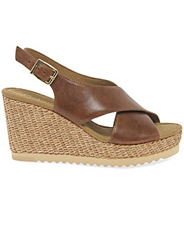 Gabor Warbler Standard Fit Wedge Sandals