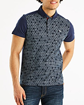 Bewley & Ritch Navy Ravel Polo Regular