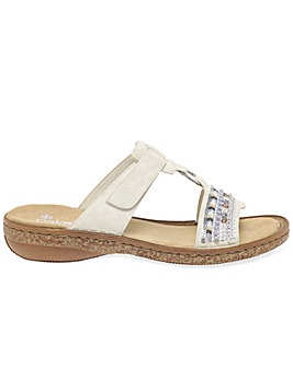Rieker Morelia Womens Sequin Sandals