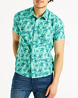 Joe Browns Sketchy Leaf Shirt Long
