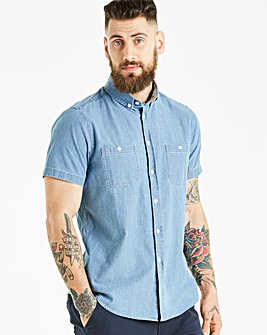 Voi Leto Chambray Shirt Long