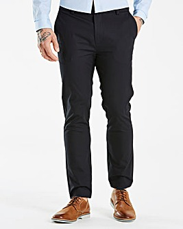 Burton London Skinny Black Stretch Chino