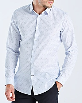 Burton London B&T Slim Clip Stripe Shirt
