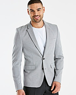 Burton London B&T Grey Pique Blazer