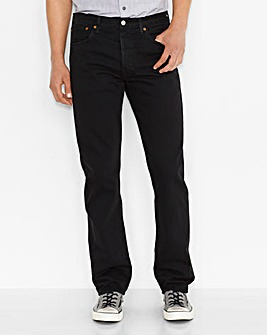 Levi's 501 Original Fit Black Jean 34 In