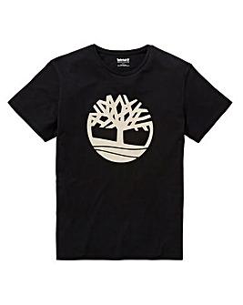 Timberland Black Tree Logo T-Shirt R