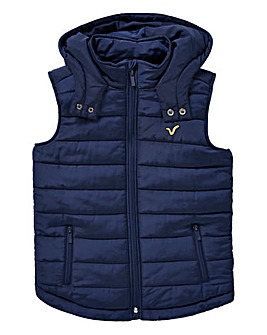 VOI Boys Hooded Gilet