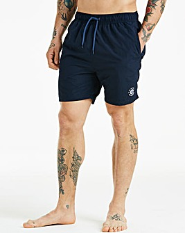 Ben Sherman Inpanema Navy Swim Shorts
